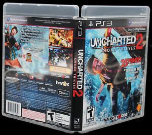 Uncharted 2 Among Thieves PS3 PlayStation 3 Replacement Case & Cover Art NO GAME