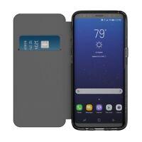 INCIPIO Samsung Galaxy S8+ NGP Translucent Folio Wallet Case Cover Black/Clear