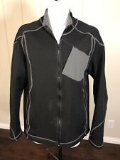 Hind Gray Speedwool Wool Full Zip Thick Bike Cycling Sport Winter Jacket Sz L