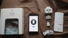 """GOOGLE PIXEL BLACK 32GB 5"""" GOOD CONDITION FULLY BOXED EE"""