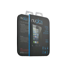 NEW Tempered Glass Film Screen Protector for Apple iPhone 5 5S 5C Premium NuGlas
