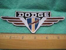 Mopar Chrysler Dodge Power Wangon Wing Service  Uniform  Patch