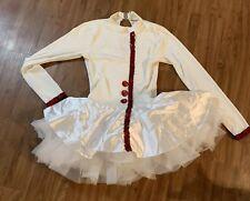 Winter White Ballerina Tutu Royal Princess Poker Halloween Costume