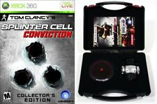 Tom Clancy's Splinter Cell: Conviction CE & Pre-Order Bonus [Xbox 360, NTSC] NEW