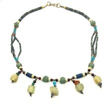 Vintage Ethnic Tribal Natural Semi-Precious Stone Necklace