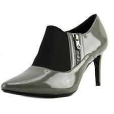 Botas de mujer Calvin Klein de tacón alto (más que 7,5 cm) de color principal gris