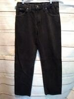 "MENS DICKIES JEANS. TAG 32""×34""Straight Leg Denim Black Wash   HH97"