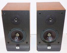 Pair of JBL P10 Audiophile 2-Way Bass Reflex Bookshelf Stereo Speakers 100W