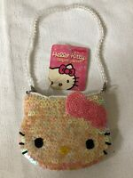 *RARE NWT* Sanrio Hello Kitty Sequin Purse 2003 Edition