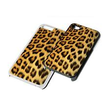 Leopard Print Animal Phone Case Cover for iPhone 4 5 6 7 8 X iPod iPad S5 S6 S7