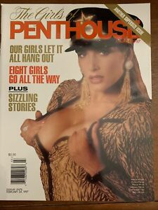 VINTAGE MEN'S MAGAZINE THE GIRLS OF PENTHOUSE COLLECTORS March 1997 Mint Cond