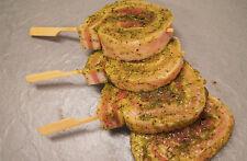Grillbauch-Schnecken mit Kräuterbutter-Marinade 500g