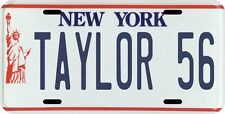 Lawrence Taylor New York Giants 1986 MVP NY License Plate