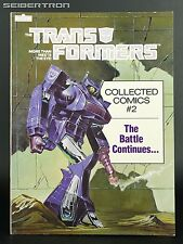 TRANSFORMERS COLLECTED COMICS #2 Marvel Comics 1985 TPB VF/NM Reprints #4 #5 #6