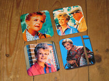 Murder, She Wrote Angela Lansbury COASTER Set #2