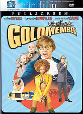 Austin Powers in Goldmember (DVD, 2002 Full Frame Infinifilm Series) Beyonce NEW