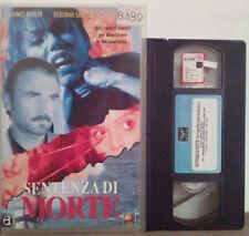 VHS FILM Ita Thriller SENTENZA DI MORTE James brolin 4594RA ex nolo no dvd(VH38)