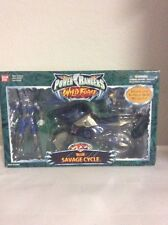 Power Rangers Wild Force Blue Savage Cycle