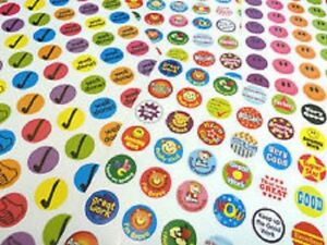280 Childrens Reward Stickers for Kids Motivation ,Merit / Praise School Teacher