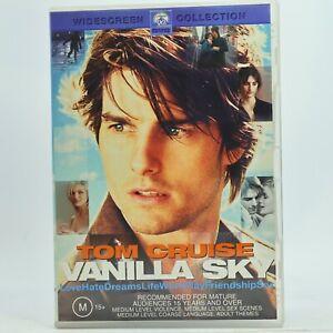 Vanilla Sky Tom Cruise Rare DVD Good Condition Free Tracked Post
