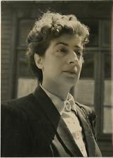 Madeleine Braun  Vintage silver print,Madeleine Braun, née le 25 juin 1907 à P