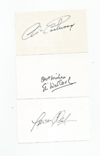 More details for autographs eastwood,van cleef,eli wallach good bad and the ugly