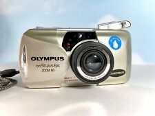 New ListingOlympus Infinity Stylus Epic Mju ii Zoom 80 35mm Point Shoot Camera Film Tested