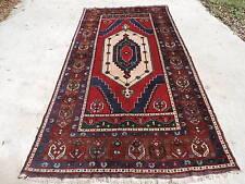 5x10ft. Vintage Turkish Melas Room Size Wool Rug