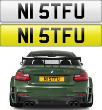N1 STFU NATHAN NABS NICK NAS NAT NICOLE RUDE CHEEKY NAUGHTY PRIVATE NUMBER PLATE
