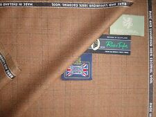 100% PURE ESCORIAL SUITING/JACKETING FABRIC MADE BY: Reid & Taylor - 3.4 m.