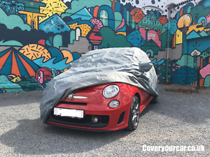 4 Layer Outdoor Waterproof Car Cover for 500 Abarth (2005 on)