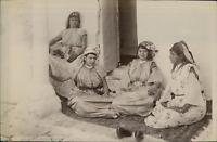 ND, Algérie, Constantine, Femmes Mauresques (costume d'intérieur)  Vintage