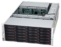 Supermicro 4U 45-Bay Hard Drive Storage Chassis SAS2 SATA JBOD SC847E16-RJBOD