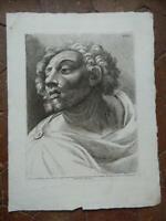 Kunstblatt Porträt Gravur Radierung Paolo Fidanza Nach Raphael Pl.xxx