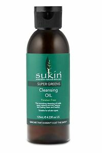 Sukin Cleansing Oil Super Greens 125ml Normal to Dry Skin