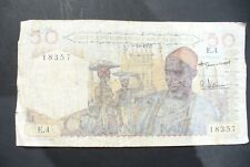 ANCIEN   BILLET -  ETRANGER  -  50 FRS   AFRIQUE ET TOGO   - TB+