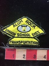 VINTAGE Patch - ALUM ROCK SCHOOL DISTRICT California - Tourist Attraction 76V3