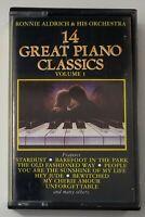 Ronnie Aldrich & His Orchestra 14 Great Piano Classics Vol 1 Cassette UK Import