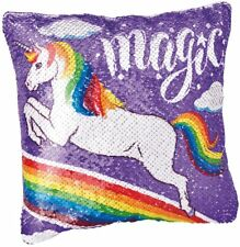 Shimmer n Sparkle Sequin Surprise Make Your Own Unicorn Pillow (New) #A22