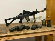 Upgraded Tokyo Marui SIG552-1 Commando Airsoft Electric Rifle | 10 Mags | Extras