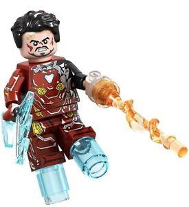 Battle Iron Man Marvel Avengers Iron Man Endgame Custom Lego Mini Figure Brick