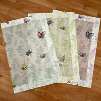 "Lot/3 QUENTIN BLAKE Zagazoo BUTTERFLY MEADOW 23""x15"" FABRIC SAMPLE 100% Cotton"