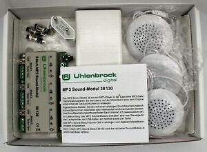 Uhlenbrock 38130   3-fach MP3 Sound-Modul  #NEU in OVP#