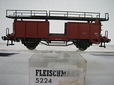 Fleischmann HO 5224 Autotransport Einheit für 4 PKW DB (RG/CB/246-13R1/5)