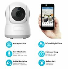 LOT OF 4 Security IP Camera Network Indoor Night Vision HD Wireless WIFI 🌊