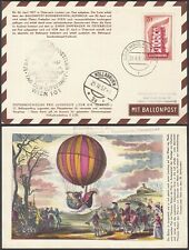 Luxembourg 1957-Special Balloon postcard from Vienna......(EB) MV-4736