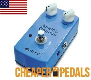 NEW JOYO ANALOG CHORUS JF-37 Effects Pedal *FREE* Shipping! US Dealer