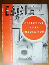 1934 EAGLE-PICHER Lead Co HEAT INSULATION ASBESTOS Products Vintage Catalog