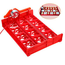 12 Chicken Eggs Turner For Automatic Duck Quail Bird Poultry Incubator Tray