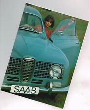1967 SAAB Brochure / Catalog: Sedan, Station Wagon, SHRIKE